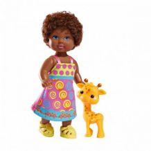 Лялька Еві Child of the World з жирафою, 12см, 5732297
