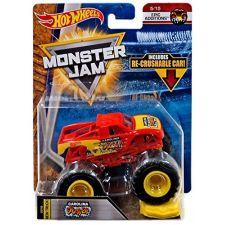 "Машина-позашляховик Carolina Crusher СЕРІЇ ""MONSTER JAM"" HOT WHEELS, FLW78"