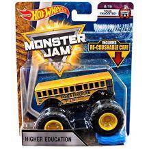 """Машина-внедорожник Higher Education СЕРИИ """"MONSTER JAM"""" HOT WHEELS, FLX02"""