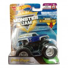 "Машина-позашляховик Grave Digger the Legend СЕРІЇ ""MONSTER JAM"" HOT WHEELS, FLX07"