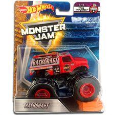 "Машина-позашляховик Backdraft СЕРІЇ ""MONSTER JAM"" HOT WHEELS, FLX36"