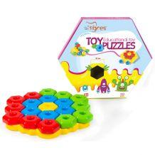 Розвиваюча іграшка-конструктор Тигрес Сніжинка, 39182