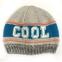 Вязаная шапочка Cool для мальчика, Nutmeg, 18072117