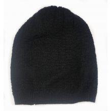Черная шапочка для девочки, United Colors of Benetton, 0133012