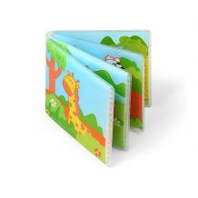 Книжка для ванної WILD ANIMALS з пищалкою, Babyono, 887