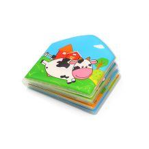 Книжка для ванної COUNTRY ANIMALS з пищалкою,Babyono, 889