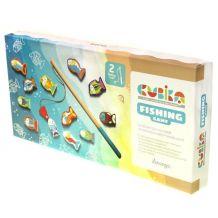 Деревянная магнитная игрушка Рыбалка, Cubika 14 деталей, 13739