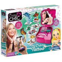 Набір Crazy Chic Татуювання, Clementoni, 78252