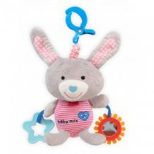 Музыкальная игрушка-подвеска Зайчик, Baby Mix, 1127