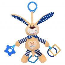 """Іграшка з вібрацією """"Кролик синій"""", Baby Mix, STK-17504B"""