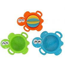 Набір іграшок для ванни Три черепашки, Baby Mix, 0689