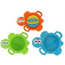 Набор игрушек для ванны Три черепашки , Baby Mix, 0689