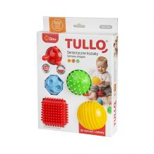 Набір сенсорних форм 5 штук, Tullo, 458