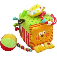 М'ягкий кубик Котик, Baby Mix, TE-8561-10C