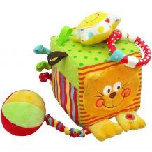 Мягкий кубик Котик, Baby Mix, TE-8561-10C