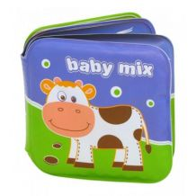 Книжка-пищалка для ванної Ферма, Baby Mix, GS-161CT