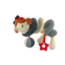 Интерактивная игрушка спираль Девочка, Baby Mix, STK-18870