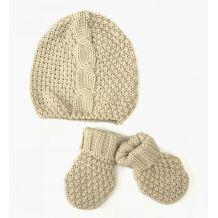 Набор шапка + перчатки для девочки, IDEXE, 7906000