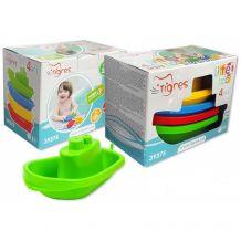 Набор игрушечных корабликов для ванны, Тигрес, 39375