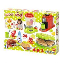 """Набір """"Кухонна техніка Chef"""" з посудом і продуктами Ecoiffier, 2624"""