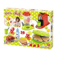 """Набор """"Кухонная техника Chef"""" с посудой и продуктами Ecoiffier , 2624"""