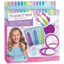 """Творчий набір Make it Real """"Помади, що змінюють колір 3 штуки і дзеркало"""", 02303"""