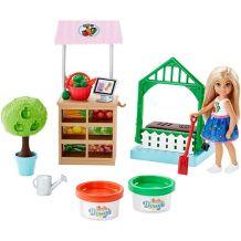 """Игровой набор Barbie """"Челси в саду"""", FRH75"""