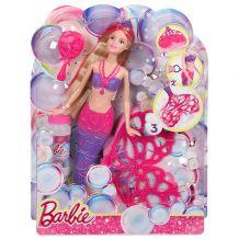 Лялька Barbie Русалочка «Чарівні бульбашки», Mattel, CFF49
