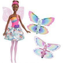 """Лялька Barbie Фея Мулатка """"Чарівні крильця"""", Mattel, FRB07/FRB09"""
