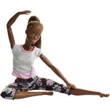 "Лялька Barbie ""Рухайся як я"" темношкіра, FTG80/FTG83"