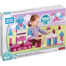 Mega Bloks Конструктор для дівчинки Maxi 100 дет., FFY45