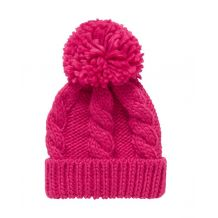 В'язана рожева шапка для дівчинки, Mothercare, 9422