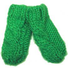 В'язані зелені рукавички для дівчинки, Mothercare, 9421