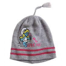 Шапка серая Love me для девочки, Disney, 936907