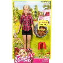 """Лялька Barbie """"Відпочинок біля вогнища"""", FDB43 FDB44"""