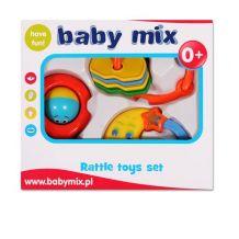 Подарунковий набір брязкалець 3шт, Baby Mix, SK/S-950-2
