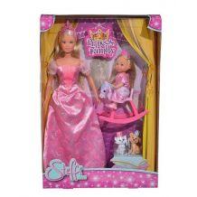Набір ляльок Штеффі та Еві Принцеси, Simba, 5733223