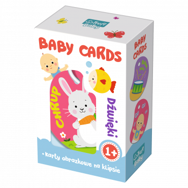 Дитячі картки - Звуки, Trefl, 01591