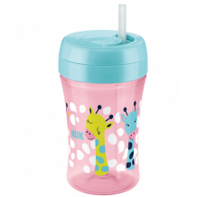 Поїльник Fun cup 300 мл Жирафки, 18+ міс, NUK, 750774