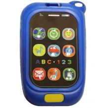 Музичний синій телефон, Baby Mix, 0880