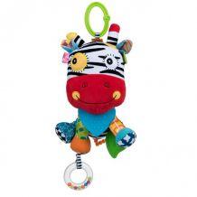 Игрушка-подвеска Зебра, Balibazoo, 83256