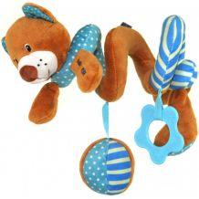 Интерактивная игрушка спираль Медвежонок, Baby Mix, STK-16432B