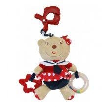Плюшевая музыкальная игрушка Морячка, Baby Mix, 2553-3700