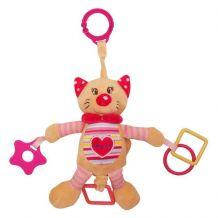 """Іграшка з вібрацією """"Котик"""", Baby Mix, STK-17517C"""