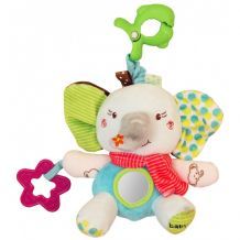 Музыкальная игрушка-подвеска Слоник, Baby Mix, P1174-EU00