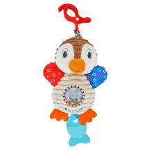 Іграшка-підвіска Пінгвін з брязкальцем, Baby Mix, TE-8248-28