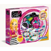 "Набір Crazy Chic ""Кольорові браслети"", Clementoni, 78415"