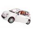 Білий Fiat +лялька Barbie, Mattel, FVR07