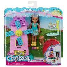 Ігровий набір Barbie Мінігольф Челсі, Mattel, FDB32 / FRL85