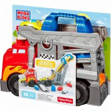Конструктор MEGA Bloks Fast Tracks Racing Rig, CND68